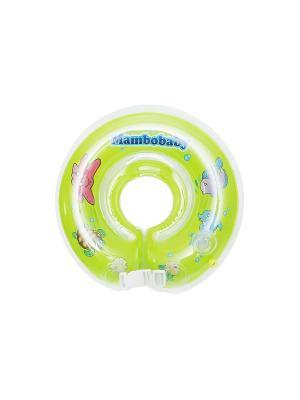 Круг на шею Mambobaby. Цвет: зеленый