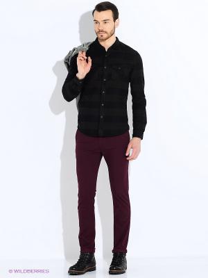 Рубашка TOM TAILOR. Цвет: черный