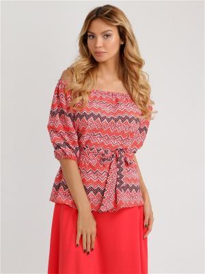 Блуза Vittoria Vicci. Цвет: красный