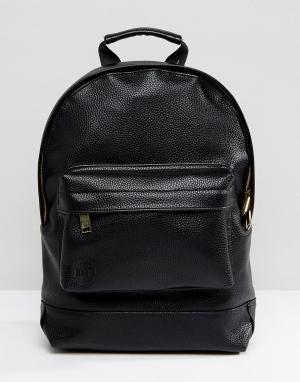 Mi-Pac Маленький черный рюкзак Classic. Цвет: черный