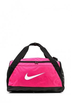 Сумка спортивная Nike. Цвет: фуксия