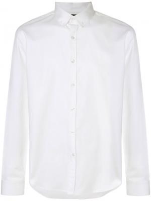 Рубашка Mist Blood Brother. Цвет: белый