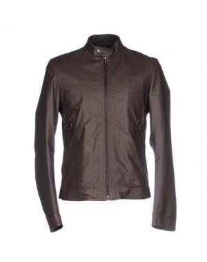 Куртка VINTAGE DE LUXE. Цвет: темно-коричневый