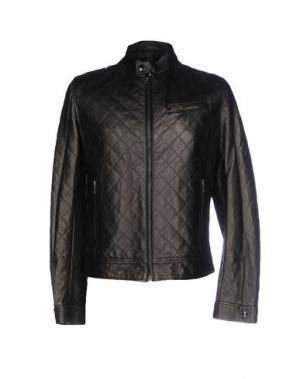 Куртка HARRY & SONS. Цвет: черный