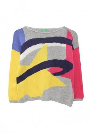 Джемпер United Colors of Benetton. Цвет: разноцветный