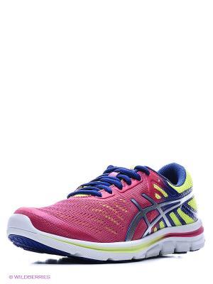 Кроссовки GEL-ELECTRO33 ASICS. Цвет: розовый, желтый, индиго