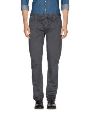 Повседневные брюки PT05. Цвет: свинцово-серый