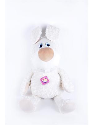 Мягкая игрушка Мега Зайчик 47.1.1 цвет белый Malvina. Цвет: белый