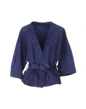Пиджак ANNARITA N.. Цвет: синий
