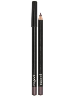 Гелевый карандаш для глаз AQUA, тон 72 POETEA. Цвет: коричневый