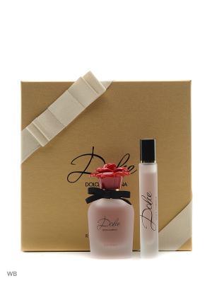 Dolce & Gabbana Rosa парфюмерная вода 30мл +парф. ролл 7,4 мл. Цвет: прозрачный