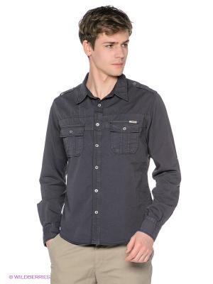 Рубашка Meltin'Pot. Цвет: темно-синий