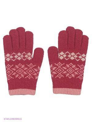 Перчатки Maxval. Цвет: темно-красный, красный, бледно-розовый