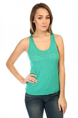 Майка женская  Spike T-Shirt Green CajuBrasil. Цвет: зеленый