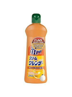 Funs  Orange Boy крем чистящий универсальный с ароматом апельсина 400 мл. Цвет: оранжевый