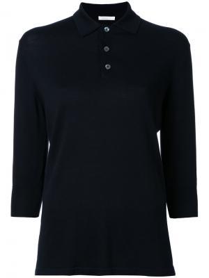 Классическая футболка-поло 6397. Цвет: синий