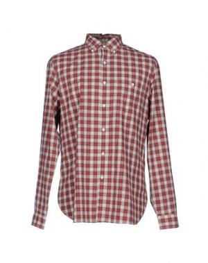 Pубашка POLO JEANS COMPANY. Цвет: красно-коричневый