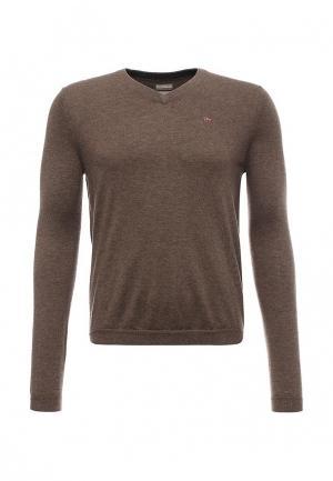 Пуловер Napapijri. Цвет: коричневый