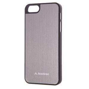 Чехол для Iphone 5  Ksmt If5E Blk Grey Avantree. Цвет: серый