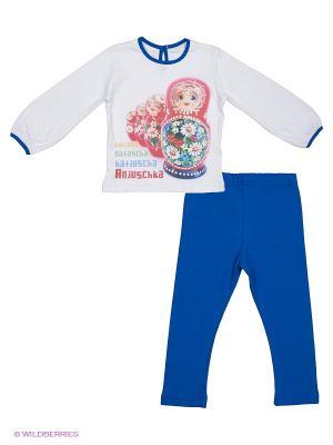 Комплекты одежды Апрель. Цвет: синий, белый
