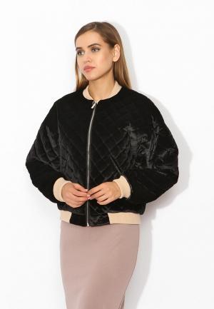 Куртка утепленная Tutto Bene. Цвет: черный