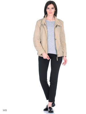 Куртка WEGA. Цвет: кремовый