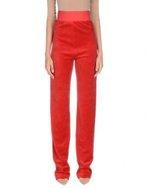 Повседневные брюки JUICY COUTURE. Цвет: красный
