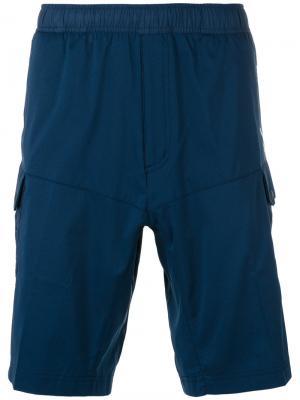 Шорты с карманами по бокам Adidas By White Mountaineering. Цвет: синий