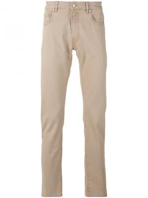 Классические брюки-чинос Pt05. Цвет: телесный