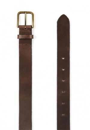 Ремень Topman. Цвет: коричневый