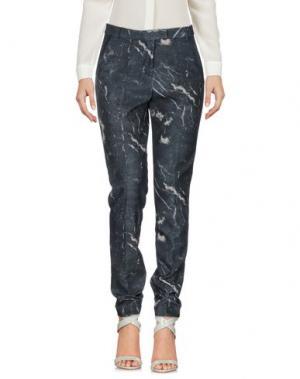 Повседневные брюки NICE THINGS by PALOMA S.. Цвет: стальной серый