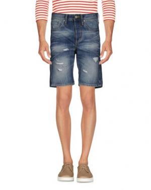Джинсовые шорты JACK & JONES. Цвет: синий