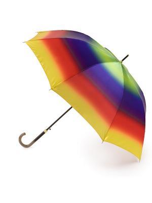 Зонт женский трость автомат Henry Backer. Цвет: желтый