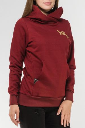 Толстовка Rocawear. Цвет: красный