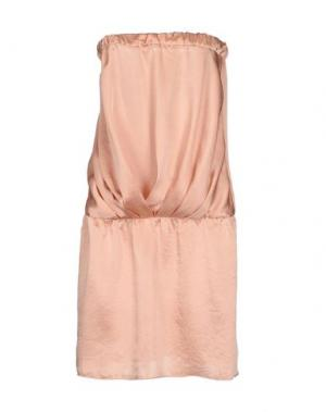 Короткое платье MAGILLA. Цвет: песочный