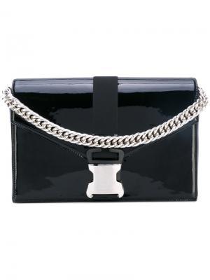 Большая лакированная сумка Devine Christopher Kane. Цвет: чёрный