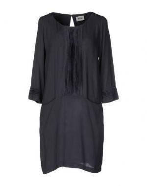 Короткое платье BELAIR. Цвет: серый