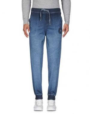 Повседневные брюки CONVERSE. Цвет: грифельно-синий