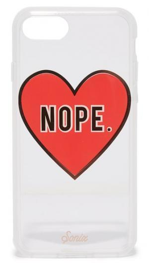 Чехол для iPhone 7 с надписью «Nope» Sonix