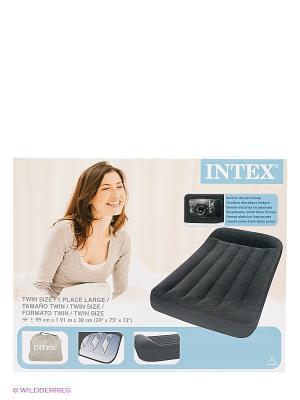 Надувной матрас Intex. Цвет: черный
