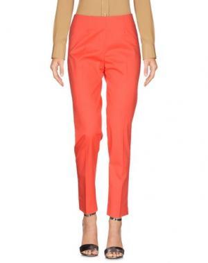 Повседневные брюки ANNECLAIRE. Цвет: красный