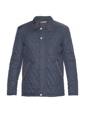 Утепленная куртка 181599 Vivacana. Цвет: синий