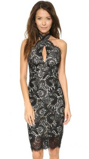 Mia Twist Dress Lover. Цвет: голубой