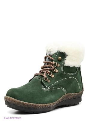 Ботинки Mario Ponti. Цвет: темно-зеленый