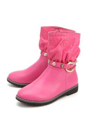 Полусапоги Flois. Цвет: розовый