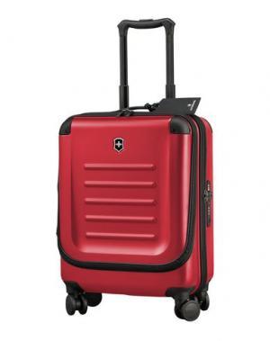Чемодан/сумка на колесиках VICTORINOX. Цвет: красный