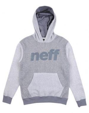 Толстовка NEFF. Цвет: светло-серый