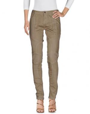 Джинсовые брюки SASS & BIDE. Цвет: зеленый-милитари