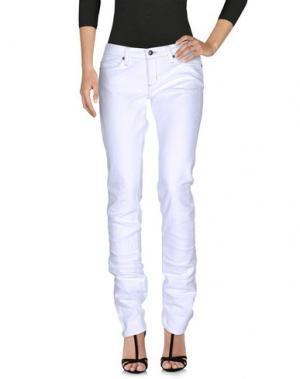 Джинсовые брюки HABITUAL. Цвет: белый