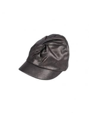Головной убор SUPER DUPER HATS. Цвет: свинцово-серый